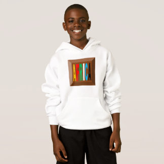 HOOD SWEATER HANES AFRICA CHOCOLATE CANDIES