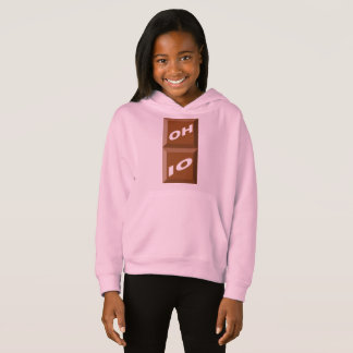 HOOD SWEATER ROSE BLADE OHIO CHOCOLATE