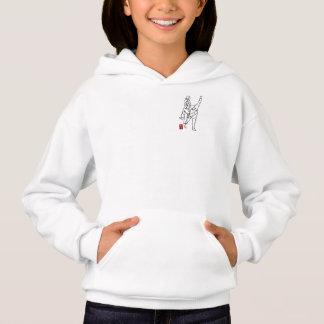 Hood sweater UNBALANCES girl