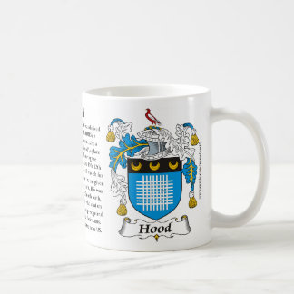 Hood, the Origin, the Meaning and the Crest Mug