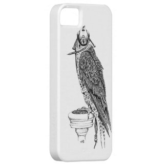 Hooded Falcon I phone case