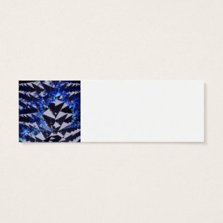 Hooded Fractals Mini Business Card