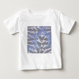 Hooded Fractals 'Your Text Here' Baby T-Shirt