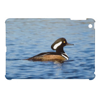 Hooded Merganser Drake iPad Mini Covers