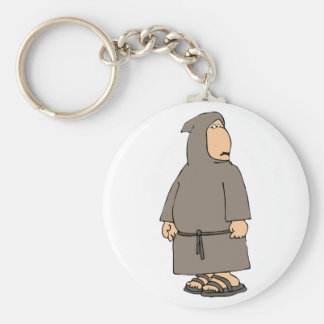 Hooded Monk Keychain