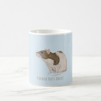 Hooded Rats Rock Agouti Hooded Rat Coffee Mug