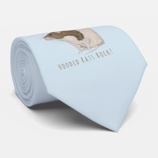 Hooded Rats Rock Agouti Hooded Rat Tie
