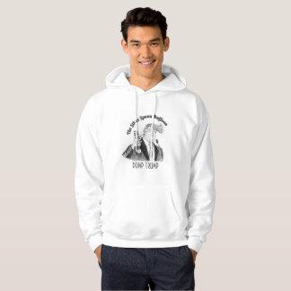 """Hooded Sweatshirt """"Silver Spoon Buffoon"""""""