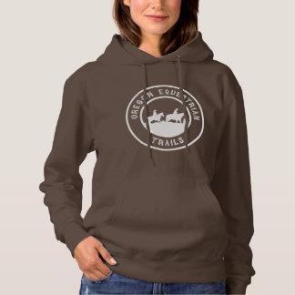 Hooded sweatshirt with full-sized logo