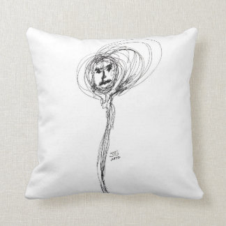 """""""Hooded"""" Throw Pillow"""