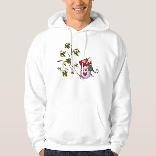 Hoodie Christmas Snowman