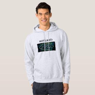 Hoodie, hood sweater, Celtic knot, Ireland Hoodie