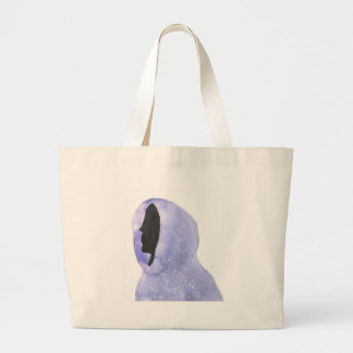 Hoodie Made of Starlight Large Tote Bag