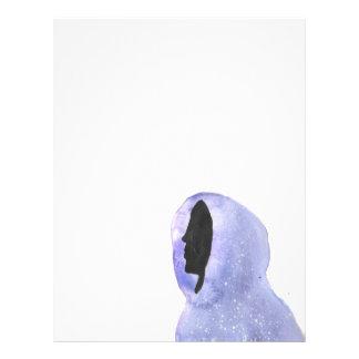 Hoodie Made of Starlight Letterhead