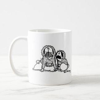 Hoodie Pugs Coffee Mug