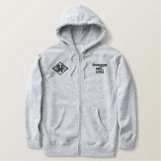 Hoodie sweat jacket