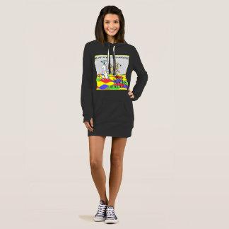 Hoodie, sweatshirt, long dress