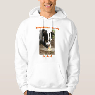 Hoodie: Welsh Corgi and Rubber Ducky Hoodie
