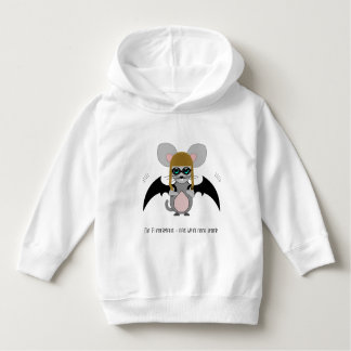 Hoodie with bat