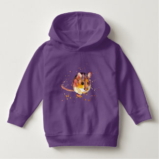 hoodie with sweet mouse