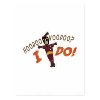 Hoodoo Voodoo Postcard