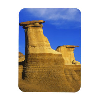 Hoodoos at Drumheller Alberta, Canada 2 Rectangular Photo Magnet
