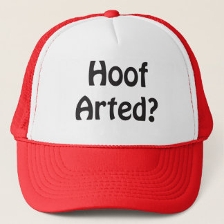 Hoof Arted Hat