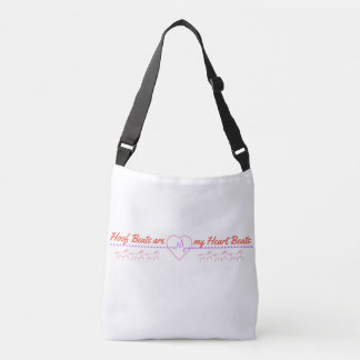 Hoof Beats are my Heart Beats Crossbody Bag