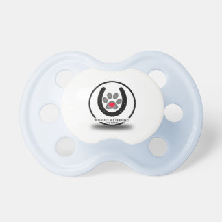 Hoofbeats and Pawprints Logo Pacifier