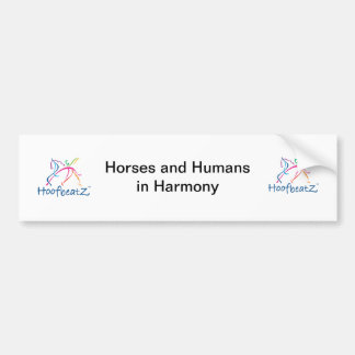 Hoofbeatz Bumper Sticker