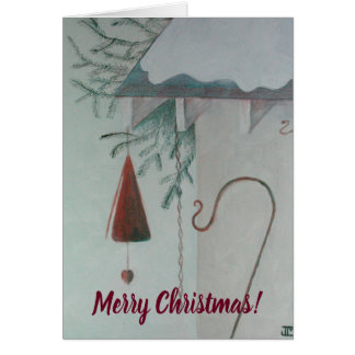 Hook and Chime Merry Christmas Card
