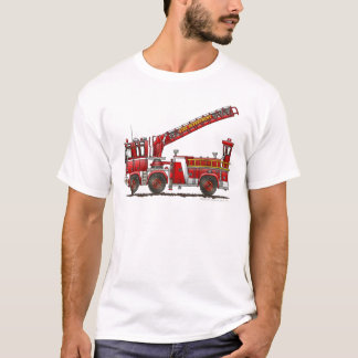Hook and Ladder Fire Truck T-Shirt