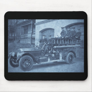 Hook and Ladder Vintage Early 1900s Mouse Pad