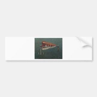 Hook Fishing Lure Bumper Sticker