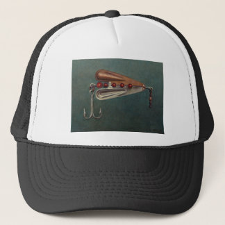 Hook Fishing Lure Trucker Hat