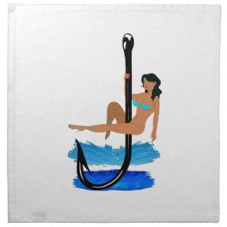 Hook, Line, Sink Her Napkin