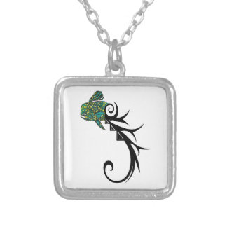HOOK UP MAHI SILVER PLATED NECKLACE