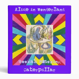 Hookah Smoking Caterpillar Vinyl Binder