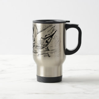 Hooked pike travel mug