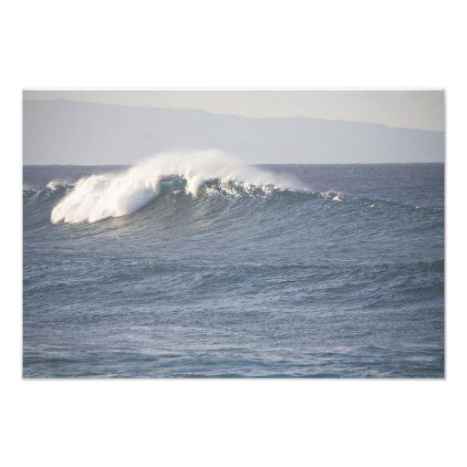 Hookipa Beach Park, North Shore of Maui, Photo Print