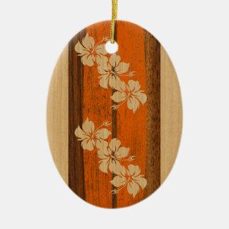Hookipa Vintage Surfboard Ornament