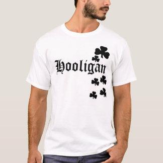 Hooligan Black Shamrocks T-Shirt