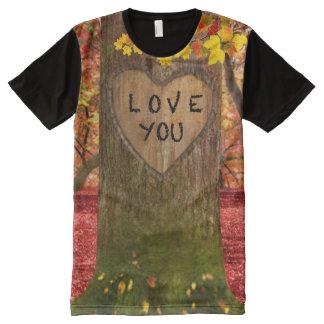 Hooo loves ya, baby? All-Over-Print T-Shirt