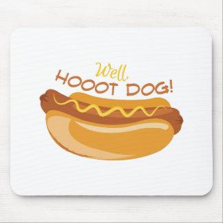 Hoooot Dog Mouse Pad