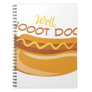 Hoooot Dog Notebook