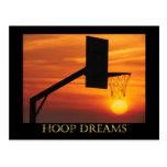 HOOP DREAMS POST CARDS