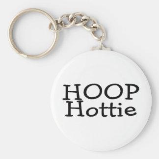 Hoop Hottie Keychain