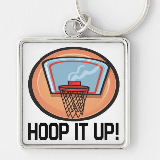 Hoop It Up Keychain
