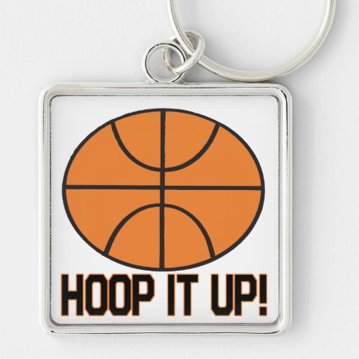Hoop It Up Key Chains