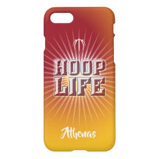 Hoop Life basketball series cardinal & yellow-gold iPhone 8/7 Case